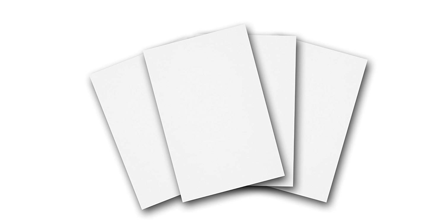 Cheap blank card stock find blank card stock deals on line at get quotations premium blank heavy bright white 4 x 6 card stock great for printing m4hsunfo