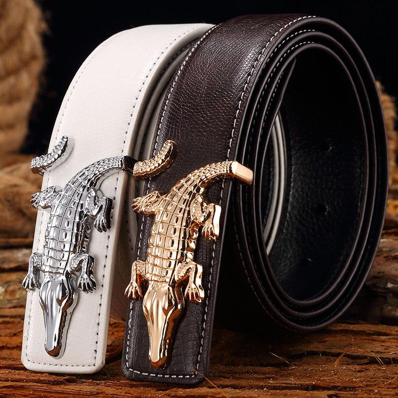 55be7509450df Belt 2016 Hot Fashion Cowhide Leather men belt Designer Luxury Famous High  quality genuine luxury leather