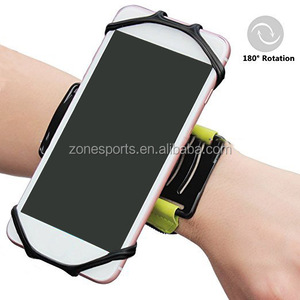 2018 Fashion 180 rotate VPU custom sport armband for mobile
