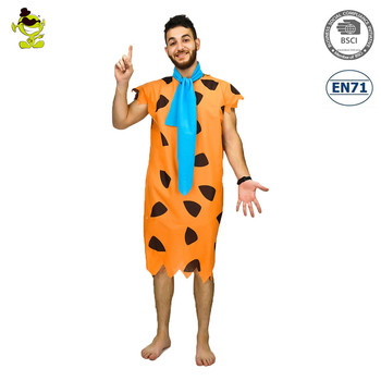 Fred Flintstone Costumes Mens 1960s Caveman Role Play Outfits Adult Halloween Party Ancient Caveman Cosplay Fancy  sc 1 st  Alibaba : fred flintstone costume  - Germanpascual.Com