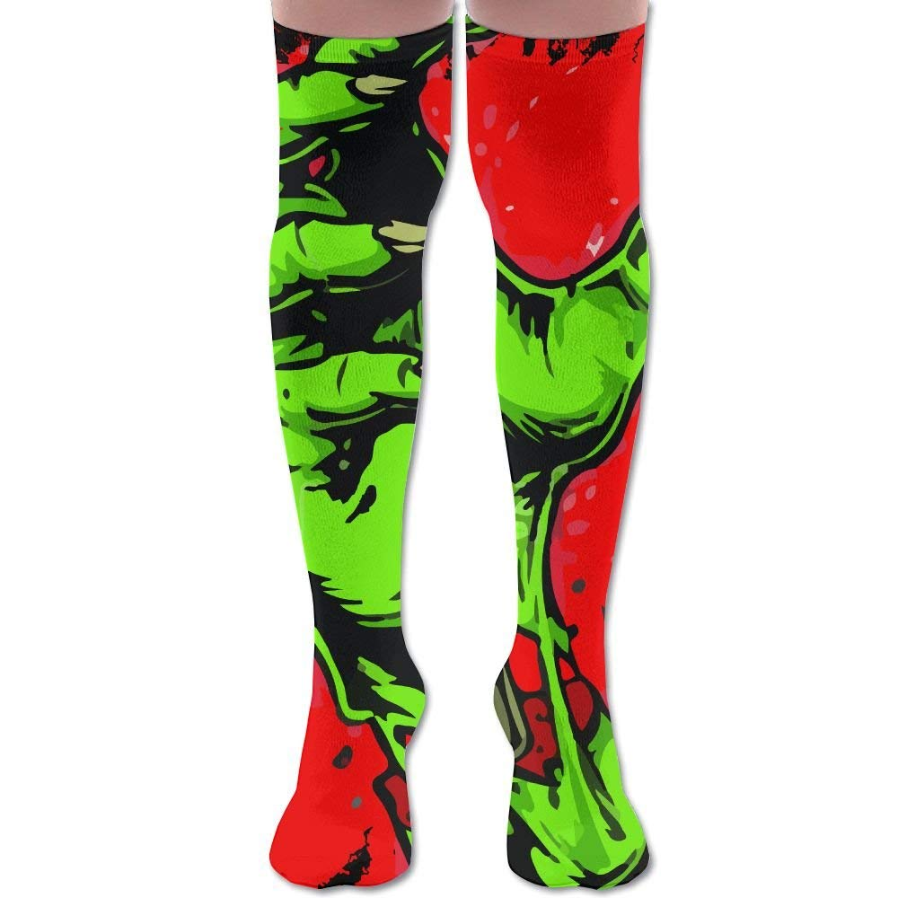48dc7c0efc8 Get Quotations · Green Zombie Hand Women Thigh High Socks Over Knee High  Socks Leg Warmer Sexy Stockings