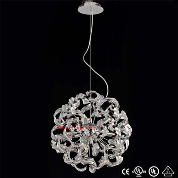crystal drop pendant light satin lined gift jewelry box