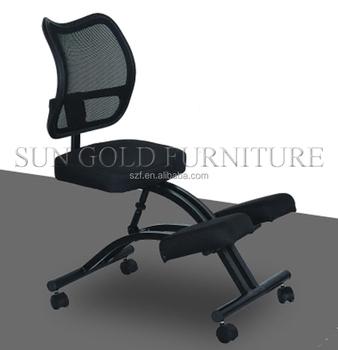 Moderna silla ergon mica silla de oficina silla de for Silla ergonomica rodillas