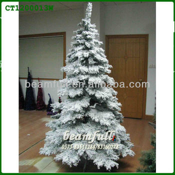 Christmas Tree with artificial snow - Christmas Tree With Artificial Snow - Buy Flocked Christmas Trees