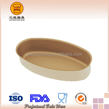Hot Selling Cheese Cake Baking Mould With Golden Coating