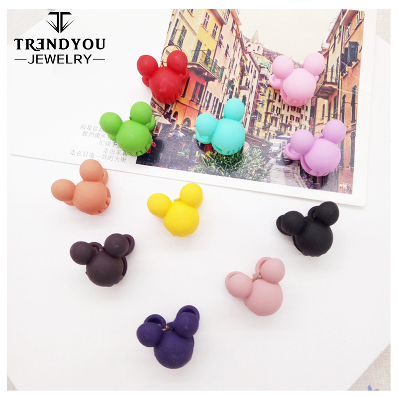 Mini Mouse Shaped Hair Accessories Cute Hair Claws For Kids