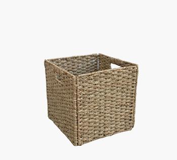 Delicieux Square Storage Drawer, Foldable Storage Baskets, Natural Fiber Storage  Baskets