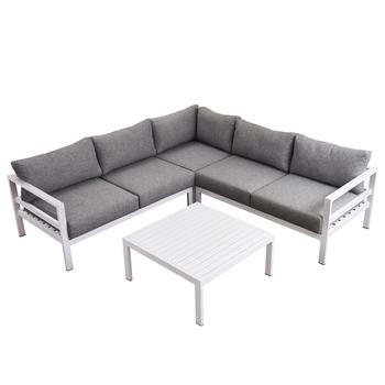 Corner Lounge Outdoor Sofa Set