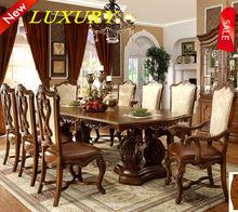 awooden estndar mesa de comedor conjuntos de muebles de comedor conjunto mesa