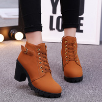 or20107a 2018 autumn new model boots women high heel lady shoes