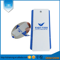 Garment Use And Plastic,PET/Paper Material Luggage Hang Tag