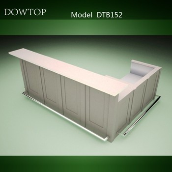 DTB152 White Restaurant Bar Counter Design