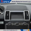 Auto Parts Accessories Matte Chrome Air Vent Cover Air Outlet Sets For Landrover Freelander 2 2012