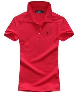 Новый 2015 марка вышивка малый конный твердые поло ralp женщины рубашка тонкий с коротким рукавом camisa поло ральф для женщин рубашки