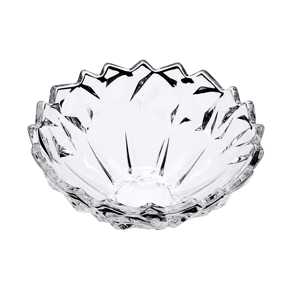 Wholesale high quality cheap price soda lime glass fruit bowls dishes for storage