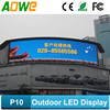 Energy saving P10 DIP full color outdoor led display with high quality