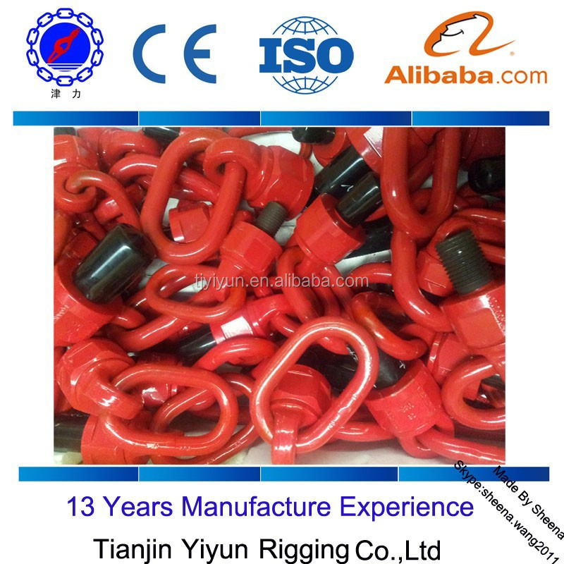 stainless steel Lifting Swivel Eye Bolts and Swivel Lifting Ring for marine boat hardware