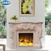 Hand Carved Simple Fireplace Designs