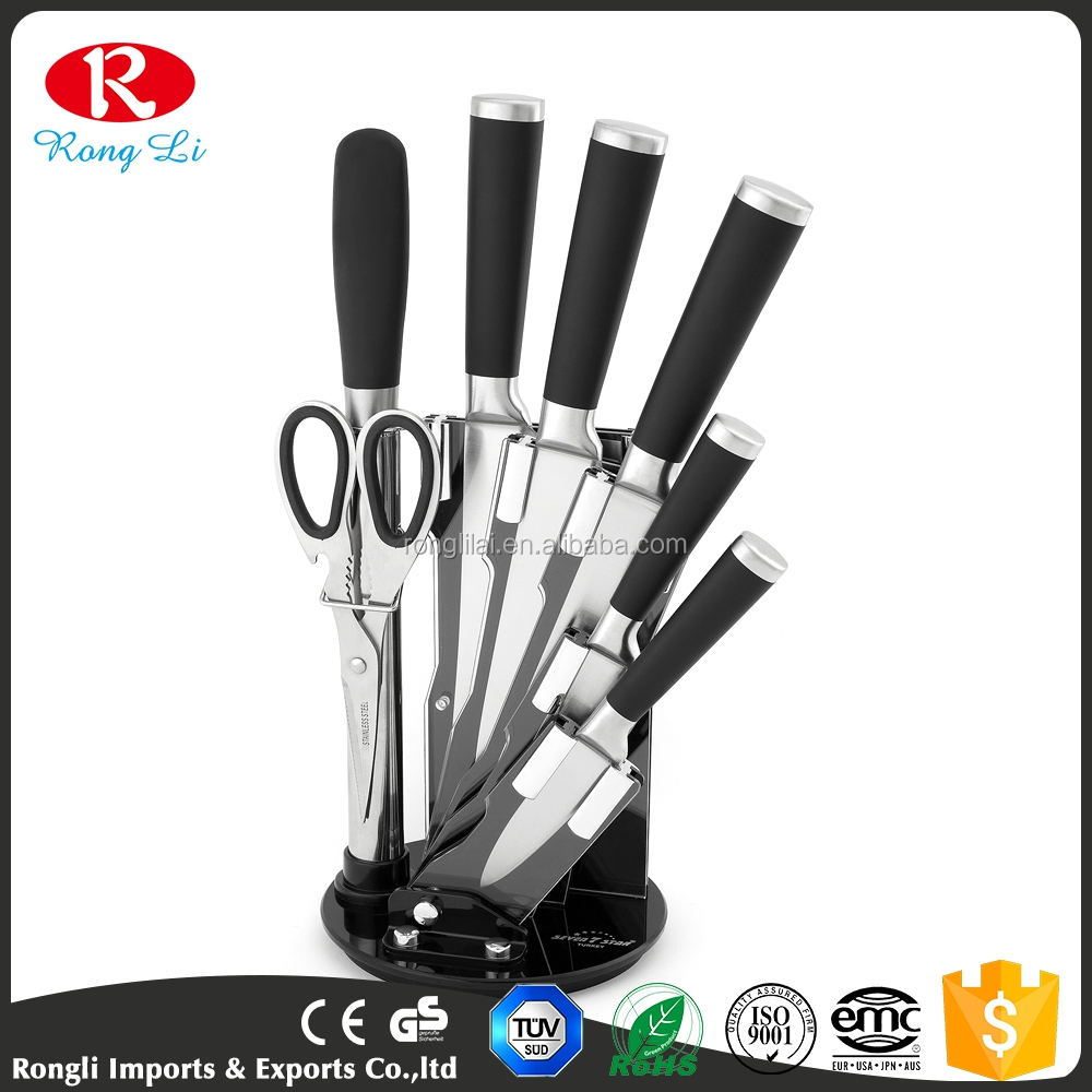 2017 Exquisite 8pcs Stainless Steel Kitchen Knife Sets