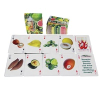 Wholesale 350Gsm Paper Abc Alphabet Cards Jumbo Educational Flash Cards Printing