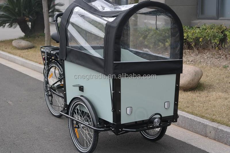 familie 3 rad elektro lastenfahrrad dreirad mit 6 geschwindigkeit bakfiets elektrischen dreirad. Black Bedroom Furniture Sets. Home Design Ideas
