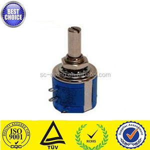 low price wirewound potentiometers 3540S 10K linear potentiometer