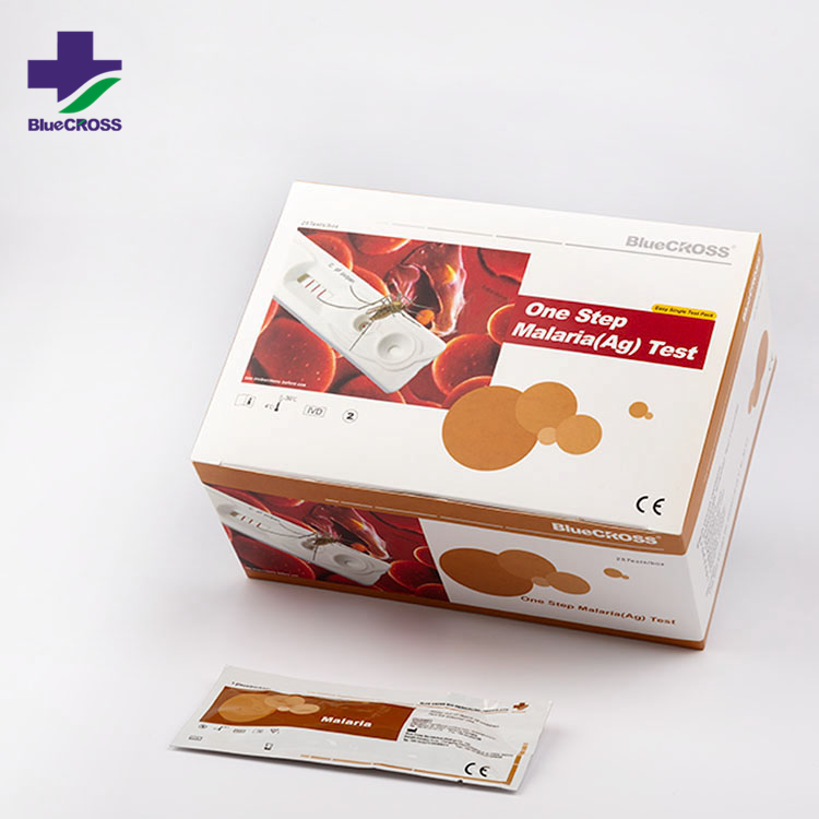 CE WHO Approved Medical Diagnostic Test Kits High Accuracy Sensitive Rapid Malaria P.F/P.V/PAN Test Infection Kits