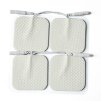 Self-adhesive Reusable Replacement Electrode Pads for Digital Massager Units and TENS EMS Machine Device