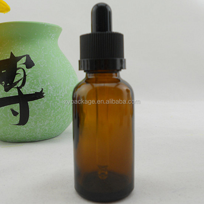 50ml Amber essential oil Bottles 50 ml empty glass bottles with childproof dropper pipette