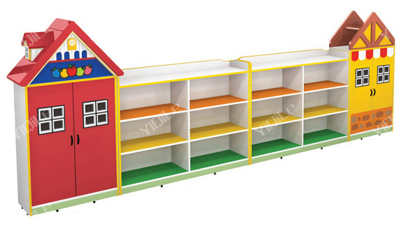 Kids Furniture Toys And Books Cabinet For Kindergarten - Buy Toys ...