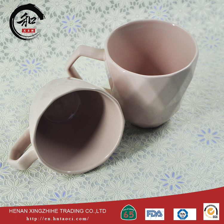 China manufacturer wholesale solid ceramic mugs With Good Service