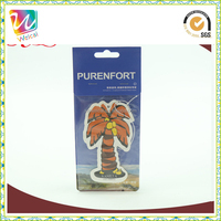 Customized Good Quality and Fragrance Car Air Freshener Little Tree