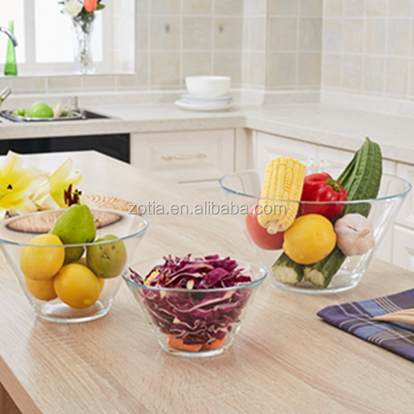 best quality glass bowl, sala bowl for kicthen use