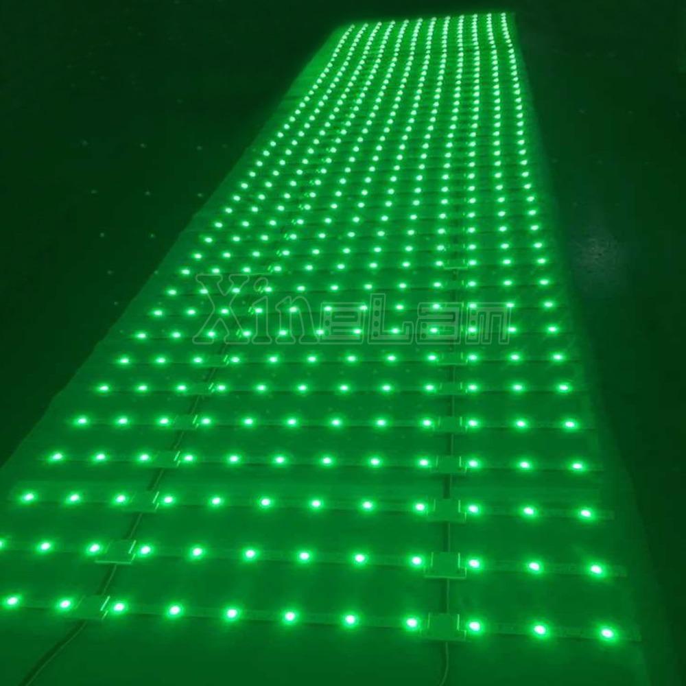 5 X Illuminazione NUDE BOARD PCB Per 3mm LED-Wearables