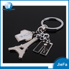 Zinc alloy custom shaped metal key hoder/ key ring/ key chain
