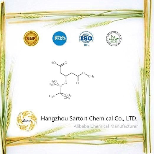 High selling (R)-3-((tert-Butyldimethylsilyl)oxy)-5-methoxy-5-oxopentanoic acid 109744-49-2