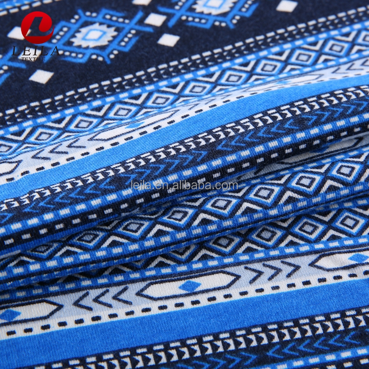 2019 new high quality wholesale stock lot print lycra fabric
