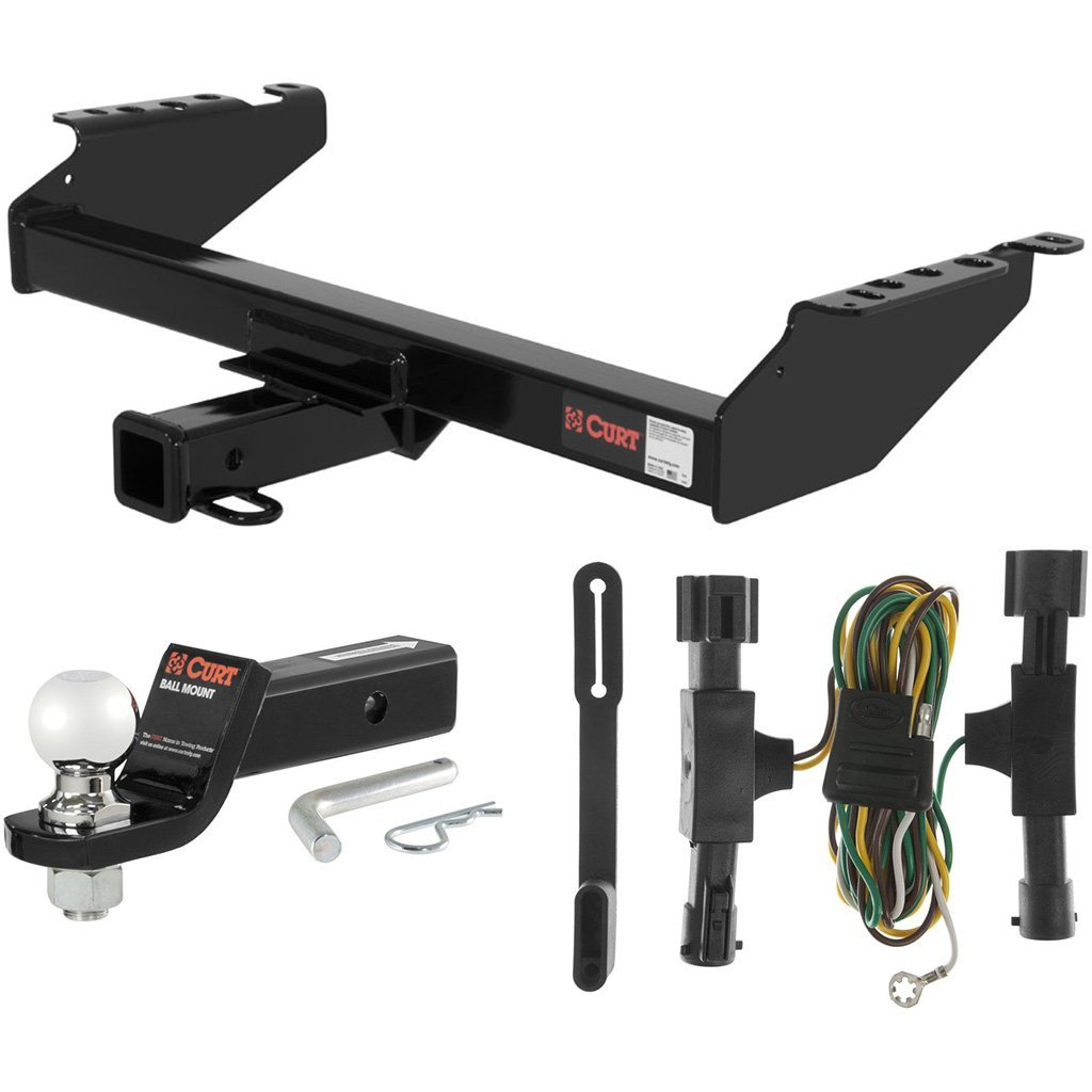 """CURT Class 3 Hitch Tow Package with 2-5/16"""" Ball for 1992-1996 Ford Bronco"""