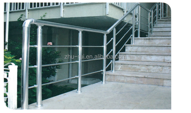 Anodizing Aluminum Stainless Steel Balcony Railing Designs/balcony Grill  Designs/handrails For Outdoor Steps - Buy Anodizing Aluminum Balcony  Railing