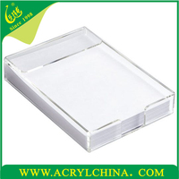 High Grade Office Supplies A4 paper container Acrylic Paper Holder