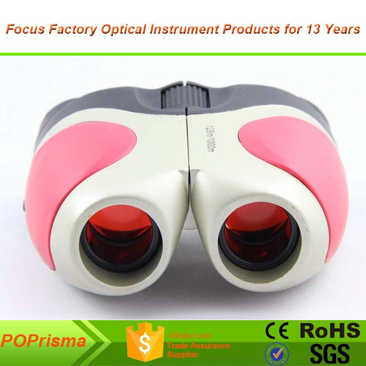 IMAGINE MH0034 8x21 Porro Binocular for Kids with Pink