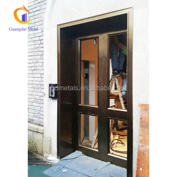 China supplier custom metal manufacturing stainless steel metal door panel