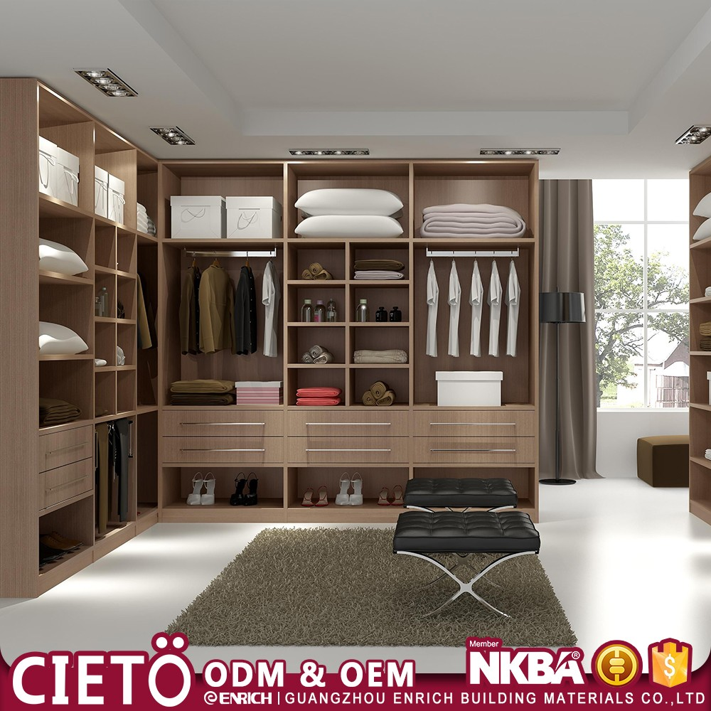 Bedroom Cabinet Suits Rta Furniture Factory Modern Design Plywood MDF  Wardrobe Walk In Closet Organizers