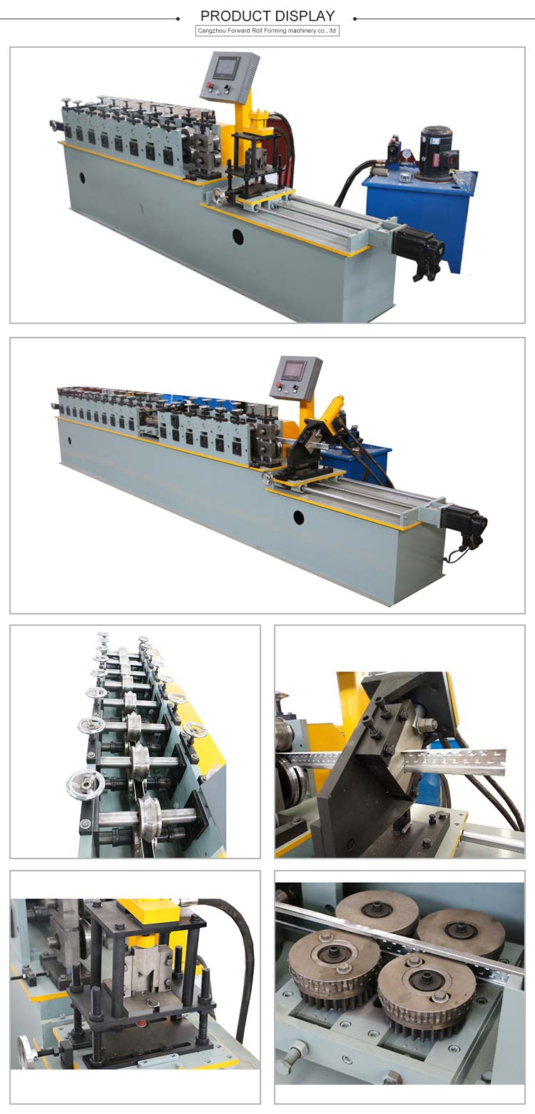 Top Quality Light Gauge Steel Frame Roll Forming Machine