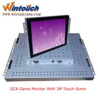 Pot Of Gold LCD monitors,CGA/VGA display,also work for FOX340 T340 WMS games