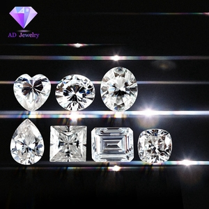 High density 2ct round moissanite Of Low Price