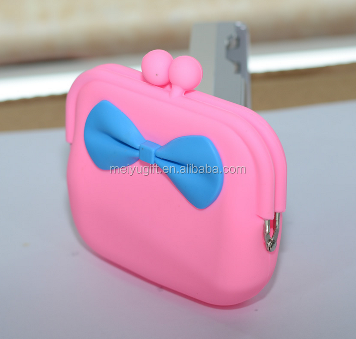 Soft hang feeling wallet with customized logo