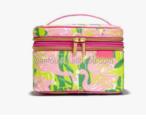 Monogrammed Lilly Pulitzer Cosmetic Bag