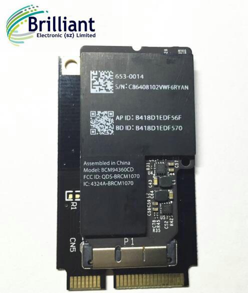 Broadcom Bcm94360cd 802 11ac Mini Wlan Bluetooth 4 0 Mini Pci-e Adapter  Wireless Card - Buy Bcm94360cd Product on Alibaba com
