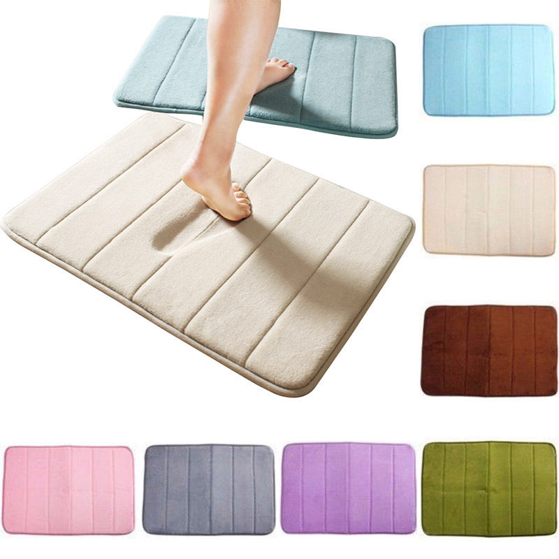 Bad Anti Slip Memory Foam Badematte